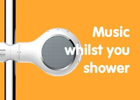 Music in the shower with Aquatunes